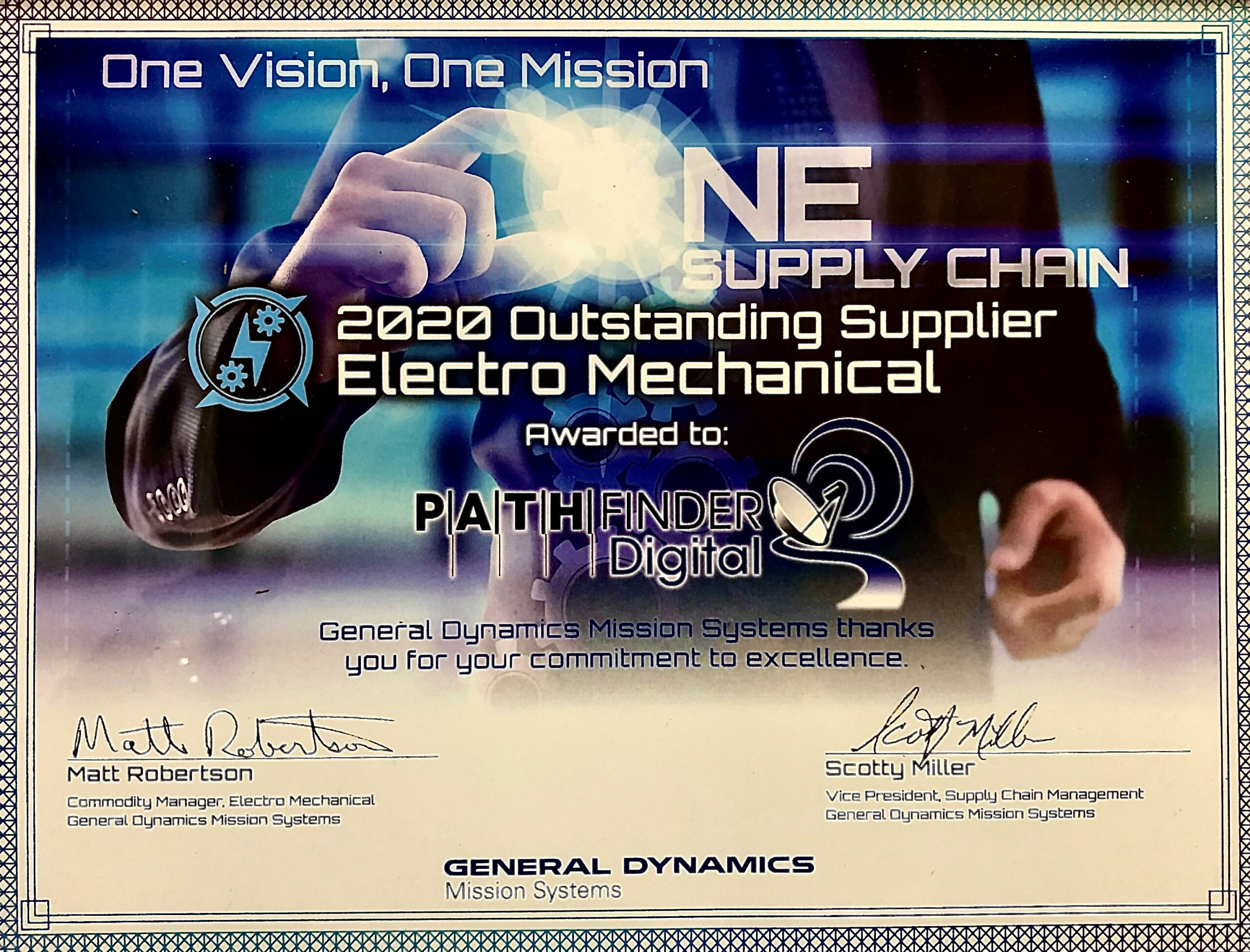 GDMS 2020 Supplier Award